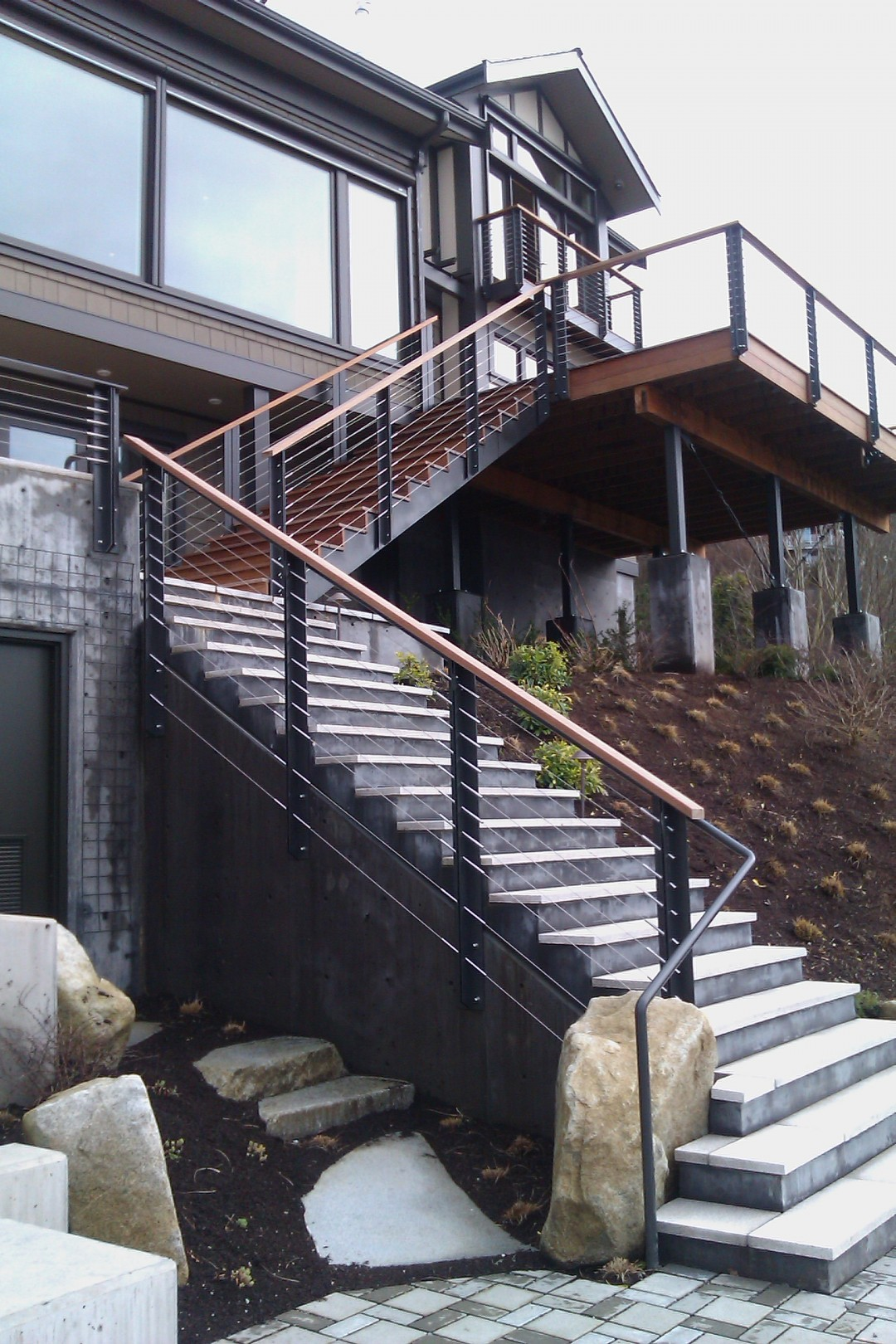Steel / Concrete Stairs